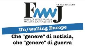 Al via il 3° Forum delle Giornaliste del Mediterraneo
