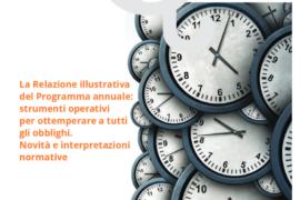 Novembre 2019: tutto sulla relazione illustrativa del programma annuale