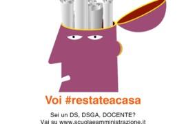 Noi #apriamotutto, voi #restateacasa