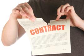 Annullamento di contratto di supplenza